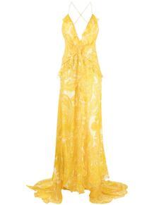 длинное платье с принтом пейсли Etro 162724155248