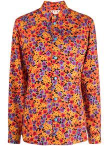 рубашка с принтом Pop Garden Marni 164523225248