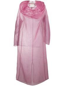 прозрачное платье со сборками Junya Watanabe Comme des Garçons Pre-Owned 1323939777
