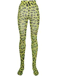 колготки с леопардовым принтом PHILIPP PLEIN 1634622850