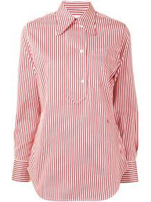 рубашка в полоску Victoria Beckham 1629570456