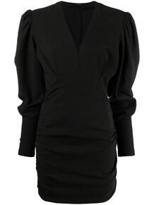 платье с длинным рукавами и V-образным вырезом Isabel Marant 164539765248