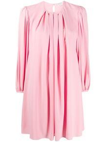 плиссированное платье-трапеция Alexander McQueen 155007865156