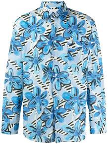 рубашка с цветочным принтом Marni 164759715254