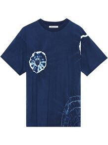 футболка Indigo Shibori University John Elliott 1626341883