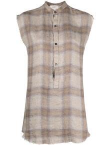 удлиненная рубашка в клетку BARENA 164302895250