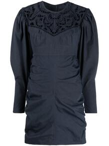 платье мини с английской вышивкой Isabel Marant 164441325154
