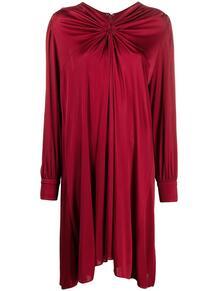 платье со сборками и длинными рукавами Isabel Marant 164129195250