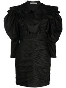 платье с оборками PHILOSOPHY DI LORENZO SERAFINI 164855805156