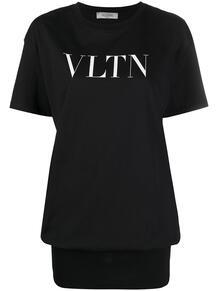 футболка с логотипом Valentino 1630557383