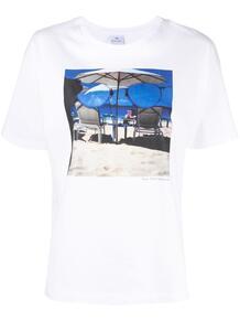 футболка с круглым вырезом и принтом PS Paul Smith 1648854677