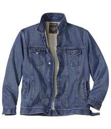 Джинсовая Куртка с Подкладкой из Шерпы AFM 3368837