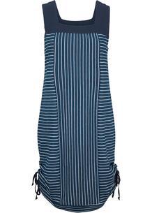 Платье в полоску с драпировками bonprix 266851787