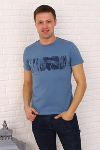 Футболка мужская Богдан (голубая) Инсантрик 48689