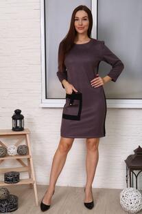 Платье замшевое Нонна (серое) Инсантрик 48707
