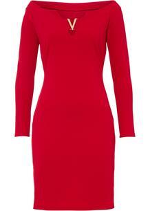 Платье с открытыми плечами bonprix 266877583