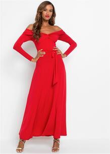 Платье с открытыми плечами bonprix 266877468