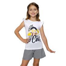 Комплект футболка/шорты Счастливая малинка 13638220