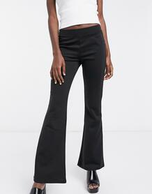 Черные расклешенные брюки -Черный Only 10117256