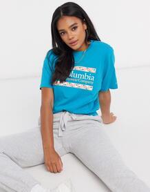 Синяя футболка -Синий Columbia 10291238