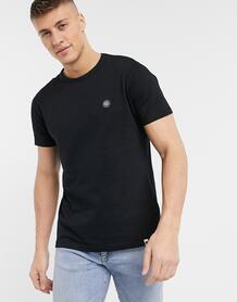 Черная футболка с логотипом -Черный цвет Pretty Green 9396611