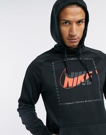 Худи черного цвета therma-Черный Nike Training 10154061