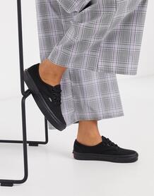 Черные кеды Classic-Черный цвет VANS 8364941