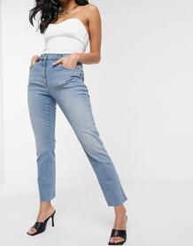 Прямые джинсы -Голубой NA-KD 9696311