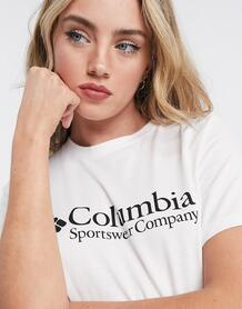 Белая футболка -Белый Columbia 10433946