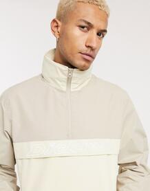 Бежевая куртка на короткой молнии Poydras-Коричневый Dickies 10497916