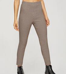Коричневые брюки из ткани бенгалин Petite (от комплекта)-Коричневый цвет Miss Selfridge 10901846