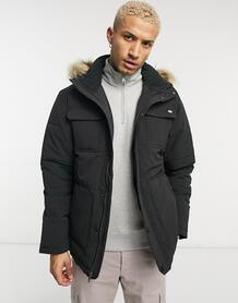 Черная стеганая куртка-парка Manitou-Черный цвет Dickies 10497883