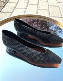 Черные плетеные балетки -Черный ASOS DESIGN 10306707
