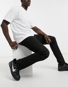 Черные джинсы прямого кроя Grover-Черный цвет Replay 10301539