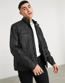 Черная вощеная куртка Allen-Черный цвет Barbour International 11465922
