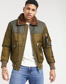 Куртка W-Louis-Коричневый цвет Diesel 11556256
