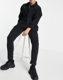 Черные джинсы скинни Jondrill-Черный Replay 10301416