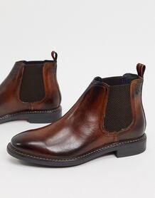 Коричневые кожаные ботинки челси -Коричневый цвет Base London 10180296