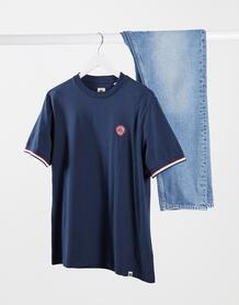 Темно-синяя футболка Likeminded-Темно-синий Pretty Green 10566958