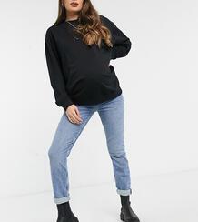 Синие джинсы в винтажном стиле -Синий New Look Maternity 10795541