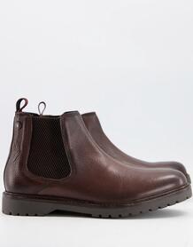 Коричневые кожаные ботинки челси Аnvil-Коричневый цвет Base London 10180258