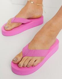 Розовые шлепанцы -Розовый London Rebel 11250974
