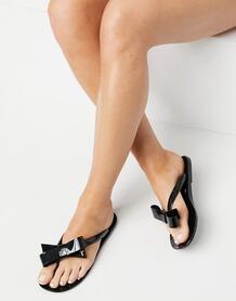 Черные шлепанцы Bejouw-Черный цвет TedBaker 11186150