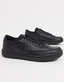 Черные кеды Court Vintage-Черный Nike 9826011