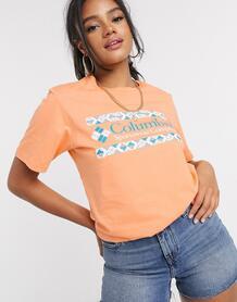 Оранжевая футболка -Желтый Columbia 10291226