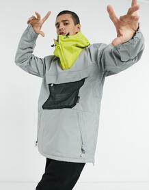 Складная лыжная куртка серого цвета ASAP-Серый DC Shoes 10612161