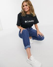 Черная футболка с логотипом CSC-Черный Columbia 9695185