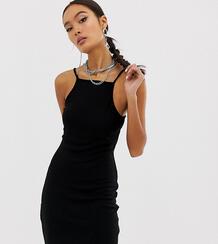 Черное платье на бретельках -Черный Collusion 7962804