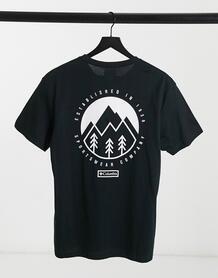 Черная футболка Cades Cove Outdoor Park-Черный Columbia 10663214