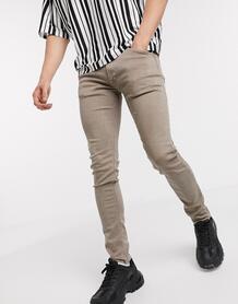 Бежевые джинсы скинни -Бежевый Replay 9614757